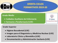 Oferta ciclos IES Lorenzo Hervás y Panduro